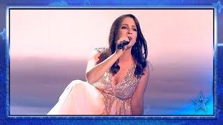 La VOZ de esta CUBANA embruja al jurado y gana un PASE de ORO | Semifinal 2 | Got Talent España 2019