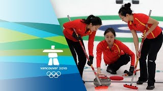 China vs Switzerland - Women's Curling - Bronze Medal Contest - Vancouver 2010 Winter Olympic Games