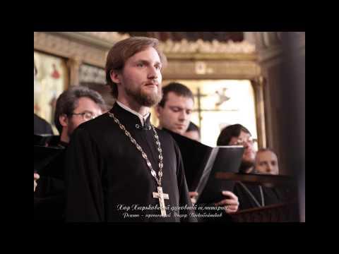 Аудиозапись выступления хора Харьковской духовной семинарии
