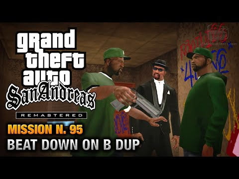 GTA San Andreas Remastered - Mission #95 - Beat Down on B Dup (Xbox 360 / PS3)