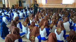 Ratusan Siswa SMAN 2 Banjarbaru Digembleng Mental Jelang Pelaksanaan UN