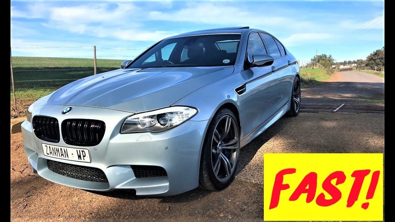 BMW F10 M5 Is a wheel spinning king!