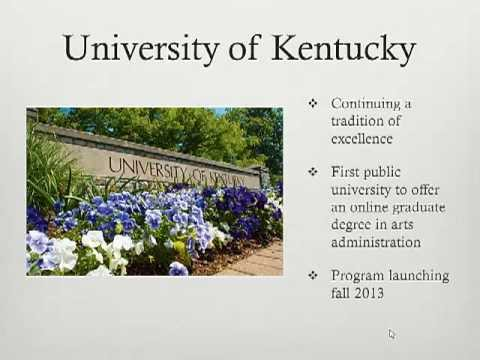 Arts Administration MA Program Overview