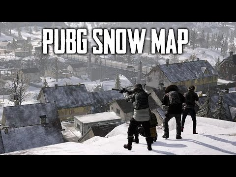 PUBG Snow Map Out Now! (Playerunknown's Battlegrounds)