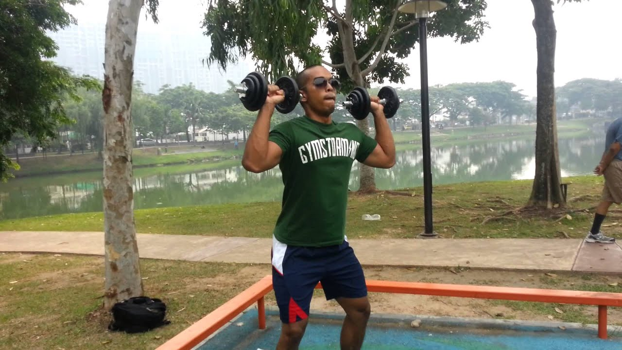 10 kg Dumbbell Workout - Fat Burning Explosive Dumbbell Complex- The 30  Minute Trainer - YouTube