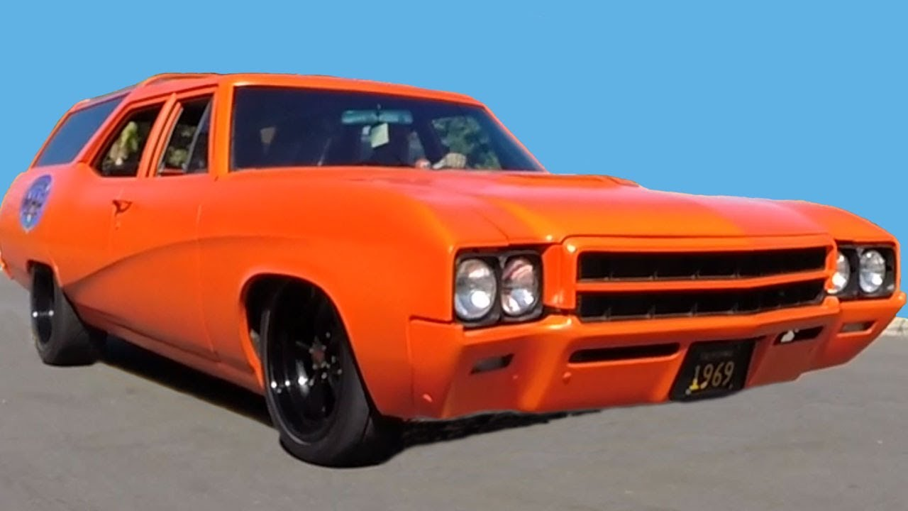 Classic Chevrolet Beaumont >> 1969 Buick Sport Wagon 400 Hot Rod Station Wagon - YouTube
