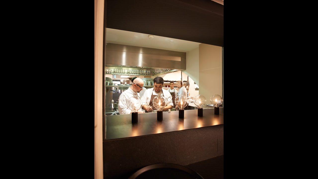 Inside the kitchen @ QUADRAT Restaurant - YouTube