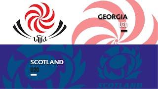 World Rugby U20s 2019 - Georgia v Scotland - FULL MATCH