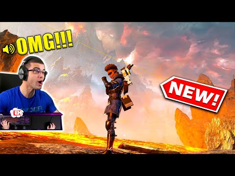 Nick Eh 30's FIRST TIME Playing NEW Season 3 Map in Apex Legends!