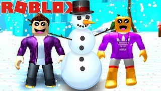 SNOWMAN SIMULATOR fun with vitamins IN ROBLOX!