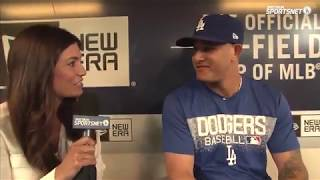 Manny Machado Interview | Machado Reaction to being Traded to Dodgers