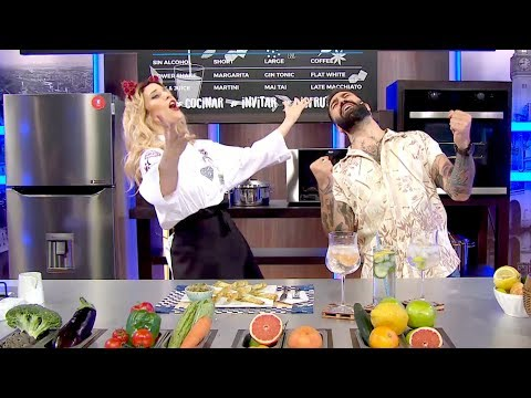 """Cucinare TV - """"Palitos de pesto y parmesano con dip de berenjena"""""""