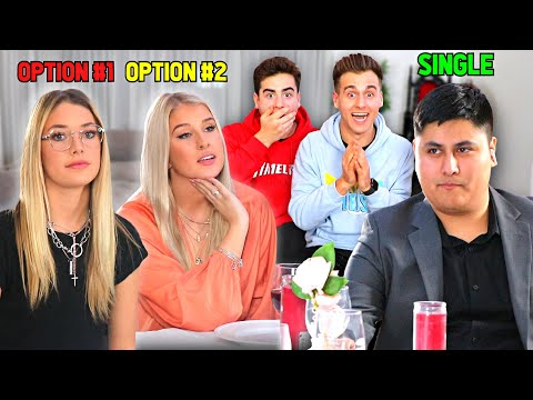 He Could Only Choose ONE To Be His GIRLFRIEND! (Blind Date)