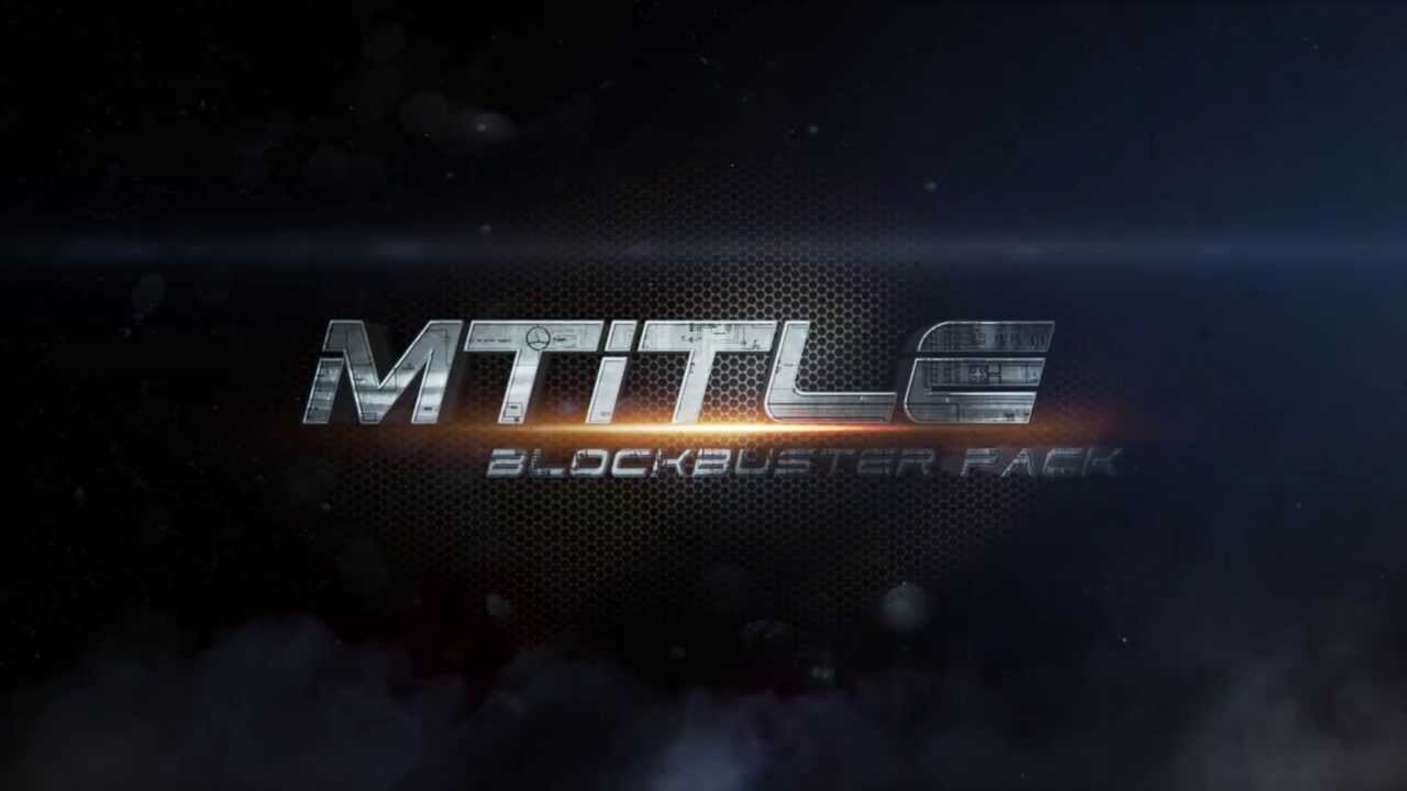 mTITLE Blockbuster Pack - 30 Cinematic Titles for FCPX and Motion 5 - FCPX  Plugin