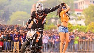 KTM bike stunts video | Duke 200 | Must watch | HD