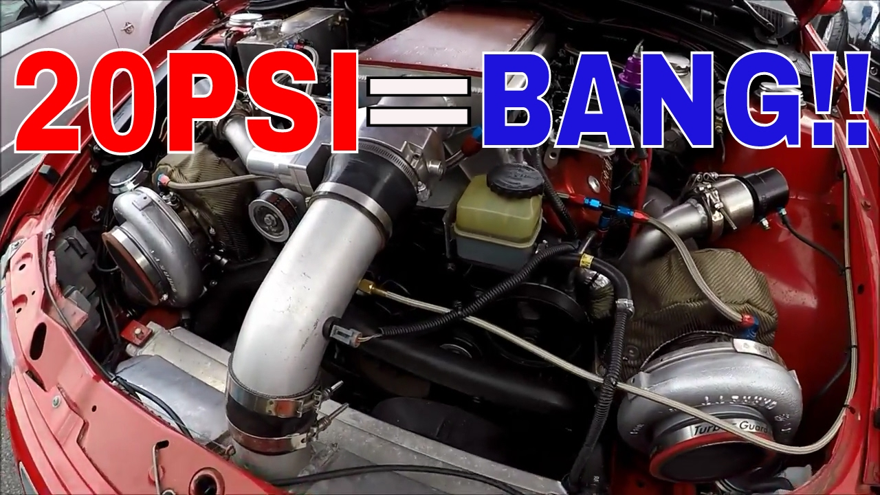 twin turbo on a stock ls2 gto hits 20psi!