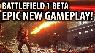 BATTLEFIELD 1 - NEW Beta Gameplay Blowout! Rush Mode, Horse & Sniper Fun! (BF1 Multiplayer)