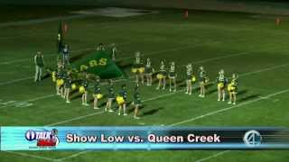 white mountain high school football queen creek vs show low