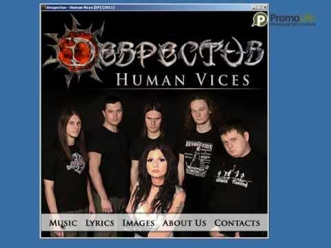 Мультимедийное приложение для CD DESPECTUS - Human vices.