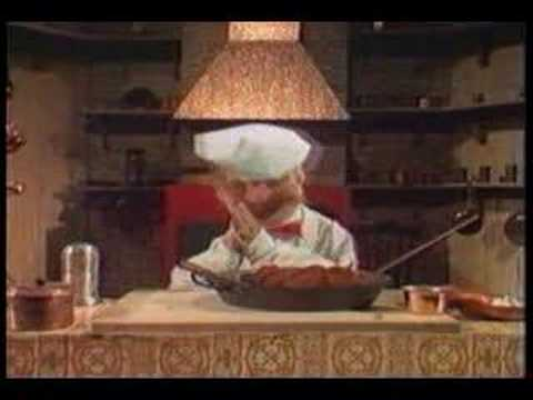 Muppet Show Swedish Chef Making Meatballs Youtube