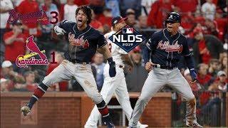 Atlanta Braves Highlights Vs. Cardinals   NLDS Game 3   #Relentless