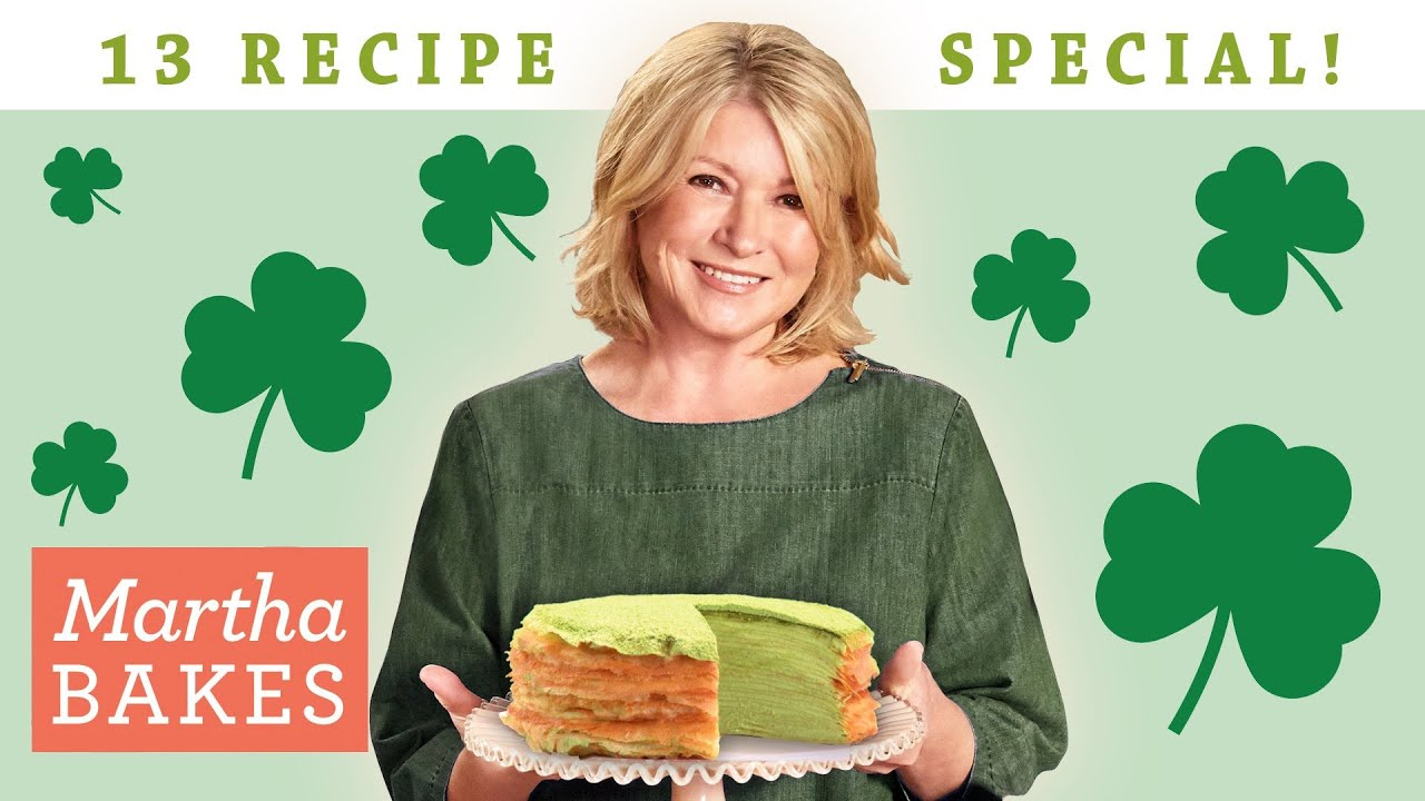 Martha Stewart's St. Patrick's Day Watch Party  | Martha Bake Classic Episodes