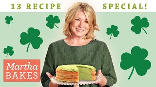 Martha Stewart's St. Patrick's Day 13 Recipe Special  | Martha Bakes Classic Episodes