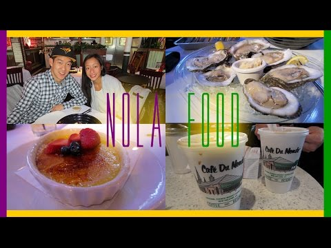 NEW ORLEANS VLOG | NOLA Food!