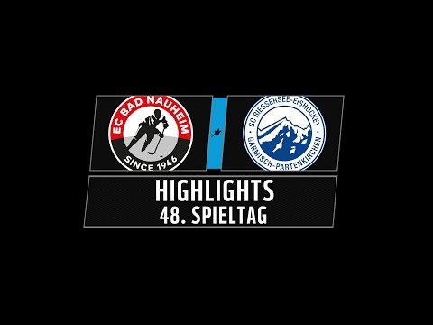 DEL2 Highlights 48. Spieltag | EC Bad Nauheim vs. SC Riessersee