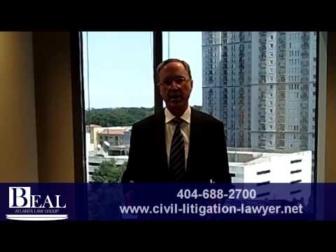 Atlanta Civil Litigation Lawyer - Andrew Beal A Local Atlanta Civil Litigation Lawyer