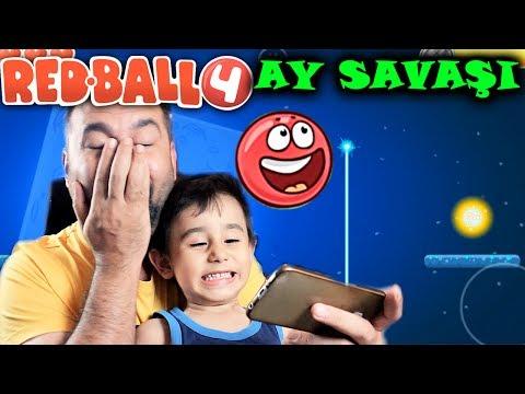 REDBALL 4 AY SAVAŞI! | KIRMIZI TOP OYNUYORUZ