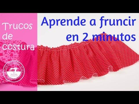 Trucos de costura: cómo fruncir telas