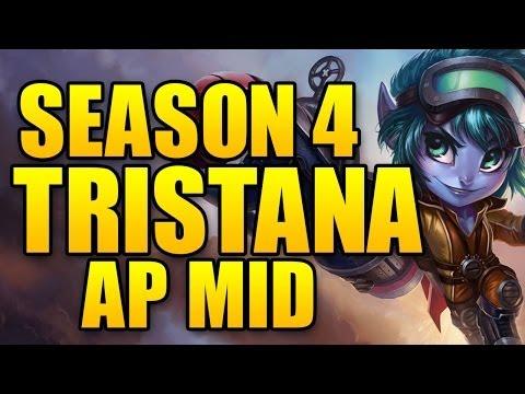 Rocket Girl Tristana MID - AP Trist - Season 4 League of Legends