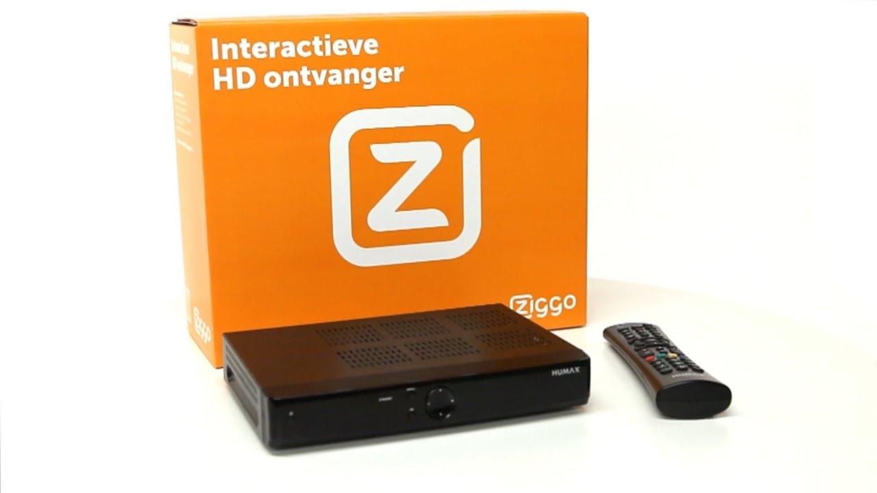 Interactieve Televisie Humax Ontvanger Geschikt Maken Ziggo