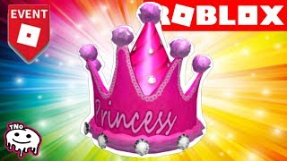 PRINCEZNOVSKÁ KORUNKA ZDARMA - Royal Party Hat - PIZZA PARTY EVENT | ROBLOX | tNo CZ/SK