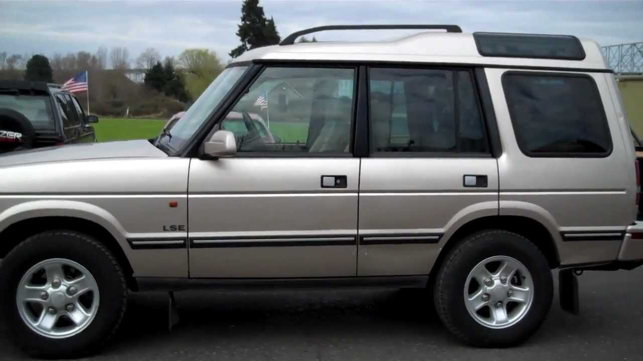 1998 land rover discovery sold youtube. Black Bedroom Furniture Sets. Home Design Ideas