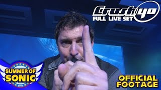 Repeat youtube video Crush 40 : Official Full Live Performance - Summer of Sonic 2016