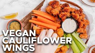 Easy Vegan Cauliflower Wings (Two Flavours)   Two Market Girls