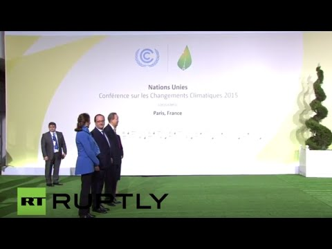LIVE: COP21 opens in Paris - Arrivals and greeting of heads of states