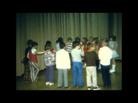 Council High School - Virginia Reel by Kindergarten Class of 1972-73