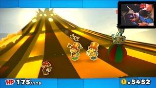 Paper Mario Color Splash #10X - FALHAMOS! - Wii U - Gameplay em Português PT-BR