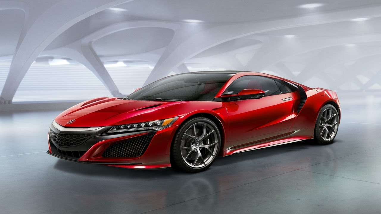Honda Will Bet By The Electric Motors With Acura Nsx