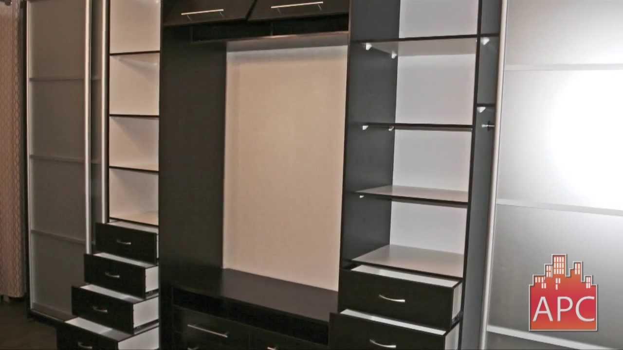 Шкафы купе в гостиной под заказ - youtube.