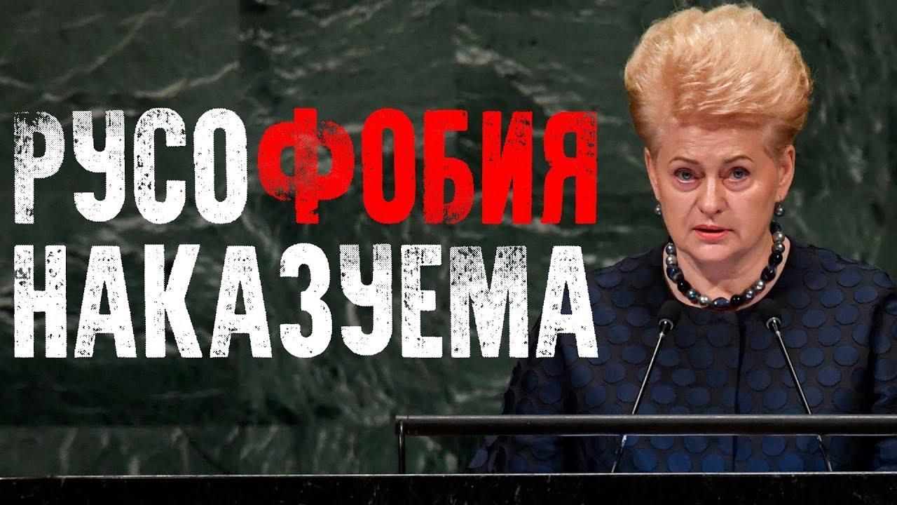 Как Россия наказывает Литву