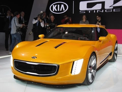 Gt4 Stinger Concept Previews New Kia Sports Car Video
