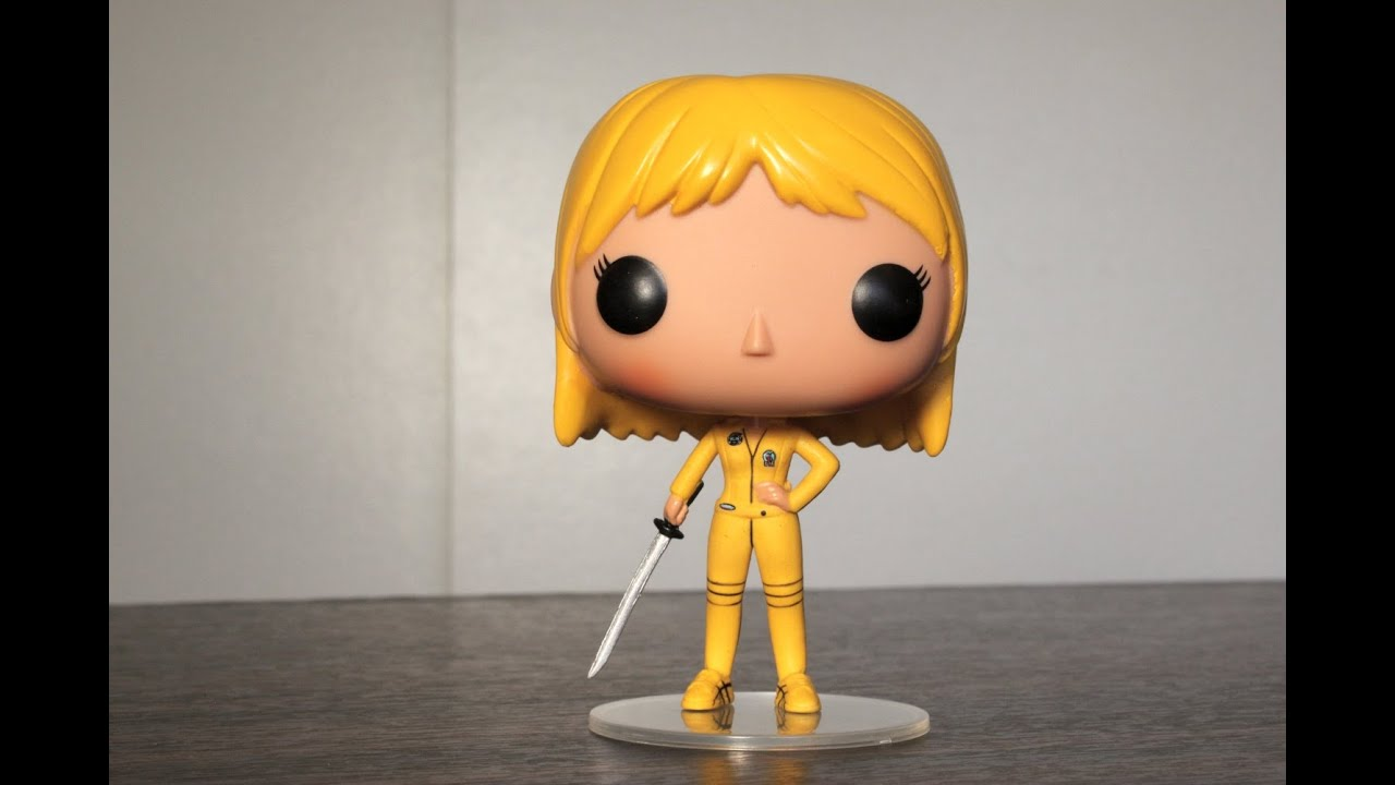 Kill Bill The Bride Funko Pop Review Youtube
