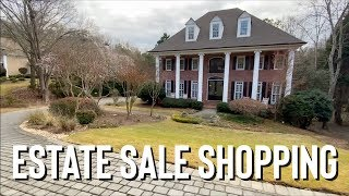 Estate Sale Shopping + Haul | …