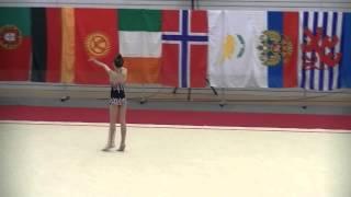 Luna Walsh - W/A - Luxembourg Trophy 2014.05.29,Greater Region & BeNeLux R.G. Challenge
