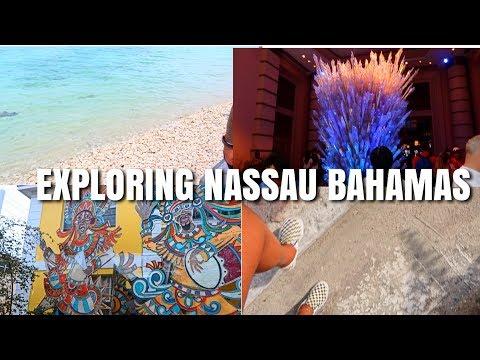 EXPLORING NASSAU BAHAMAS VLOG | SPRING BREAK 2018 🌴🌞