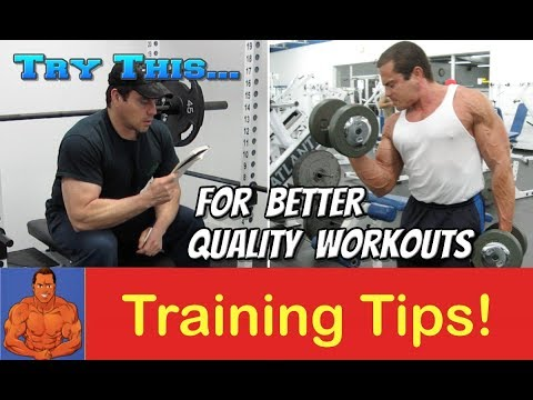 Increase The Quality Of Your Gym Workouts - Instantly!